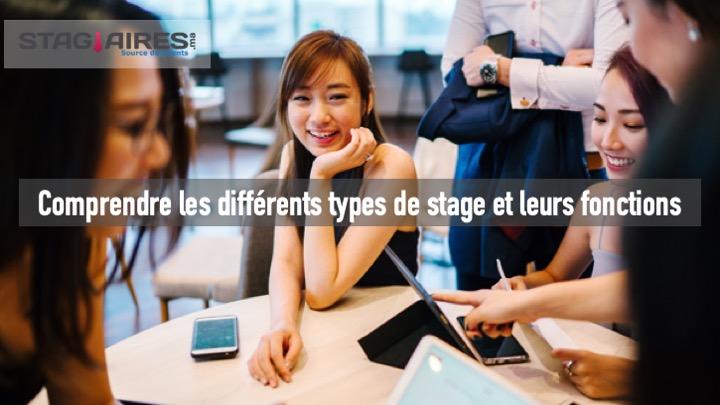 Comprendre les différents types de stage et leurs fonctions