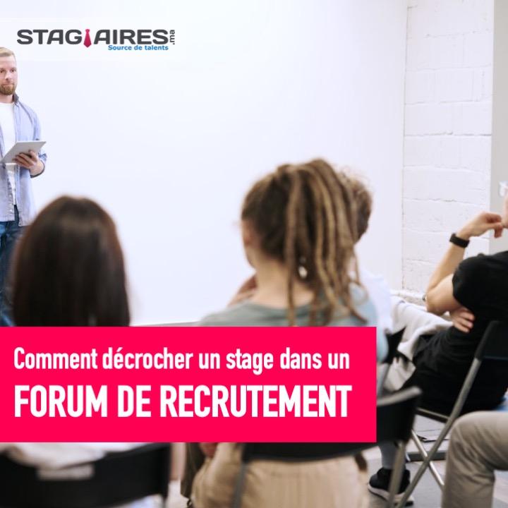 Forums de recrutement