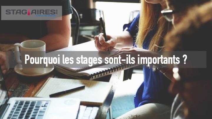 Pourquoi les stages sont-ils importants