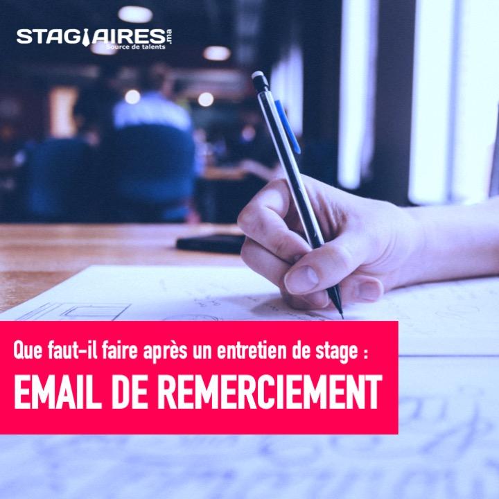 Rédiger un e-mail de remerciement après un entretien