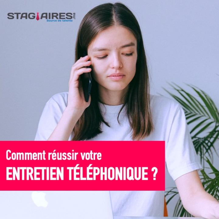 Réussir un entretien téléphonique
